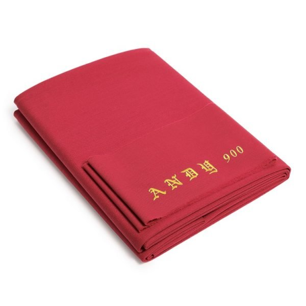 Andy 900 pool table cloth red