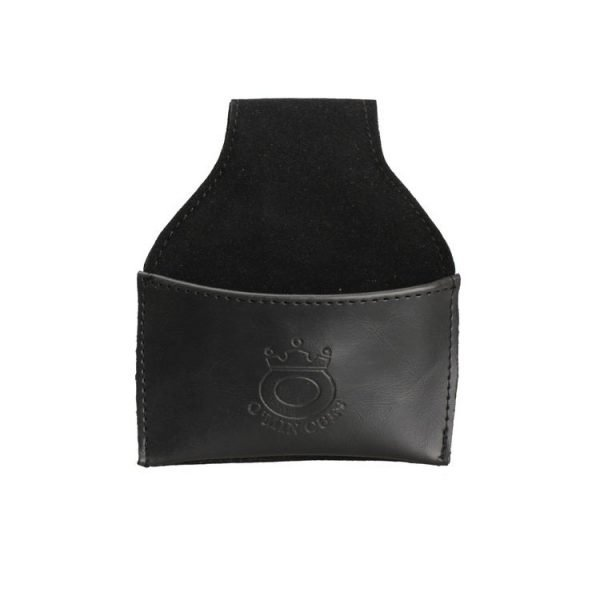 pool chalk leather pouch