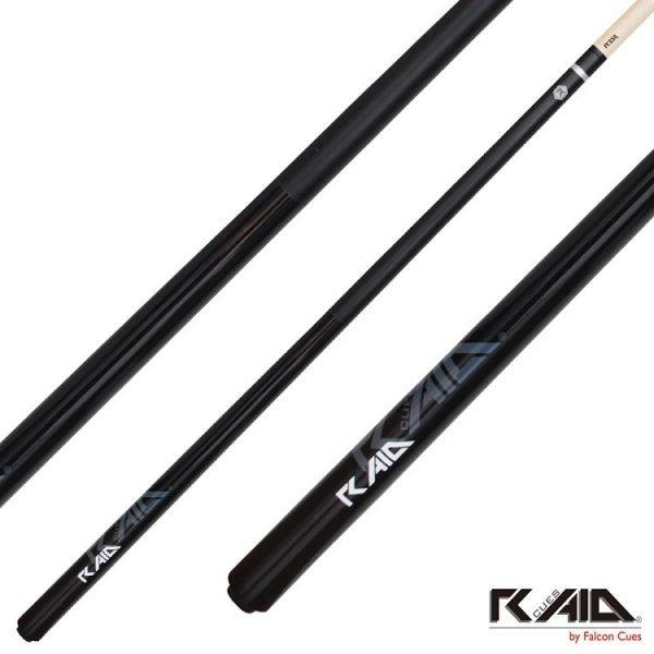 raid colourz S pool cues black