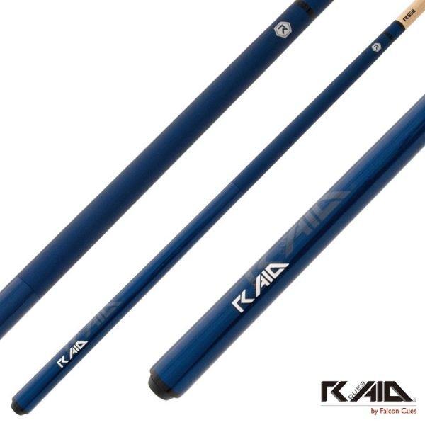 raid colourz S pool cues blue