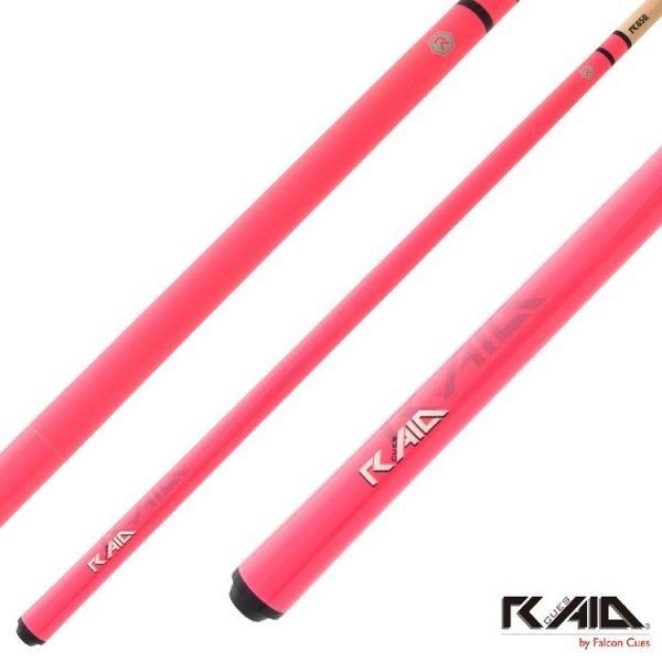 raid colourz S pool cues pink