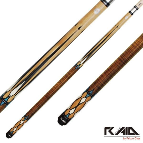 raid spears pool cues mahogany