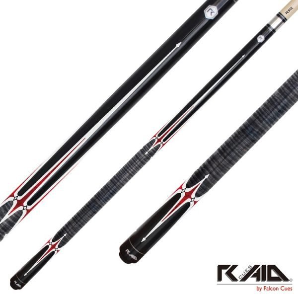 raid spears pool cues black