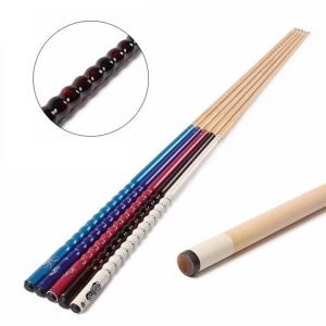 ribbed pool cue